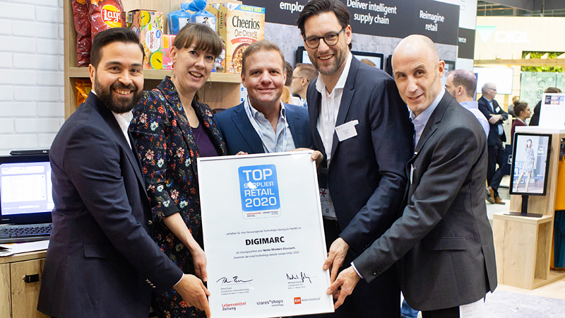 DIGIMARC Top Supplier Retail 2020