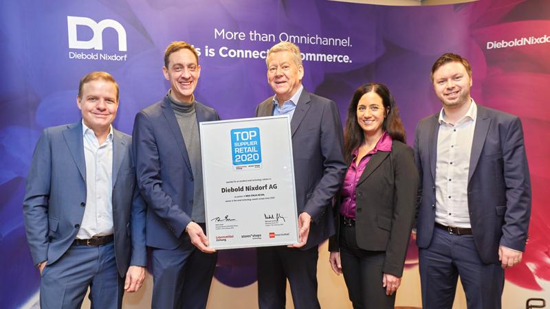 Diebold Nixdorf Top Supplier Retail 2020