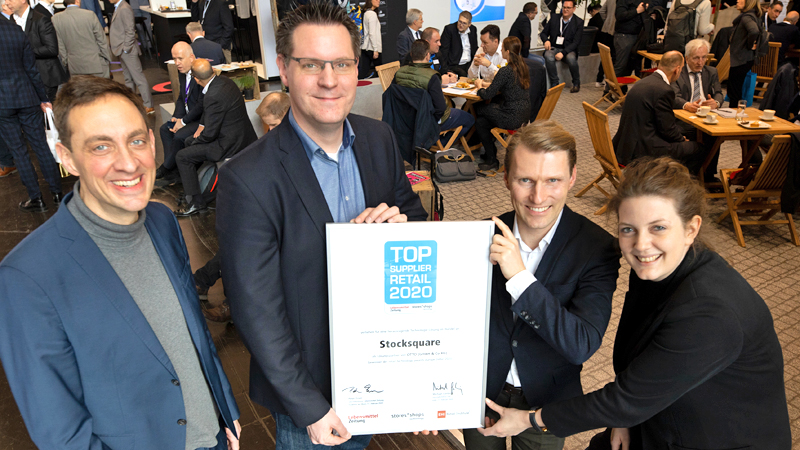 Stocksquare Top Supplier Retail 2020