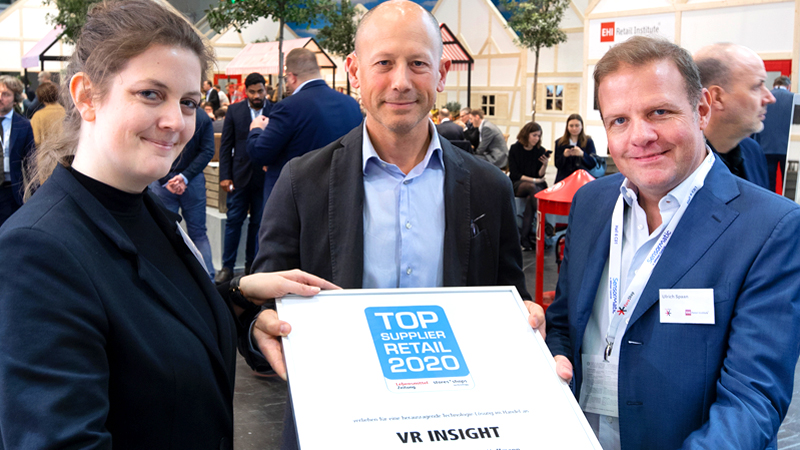 VR INSIGHT Top Supplier Retail 2020