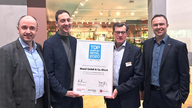 Wanzl Top Supplier Retail 2020