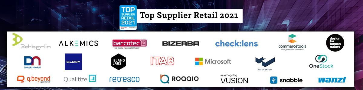 Top Supplier Retail 2021